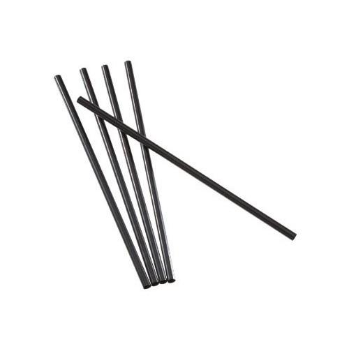 Pailles noires (colis x 500)