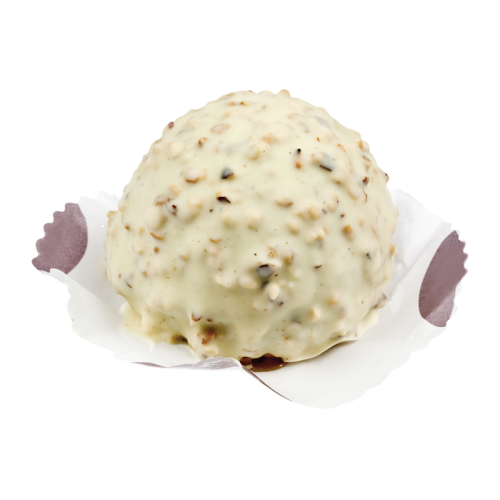 Crème Chocolat blanc Façon Rocher x6pcs