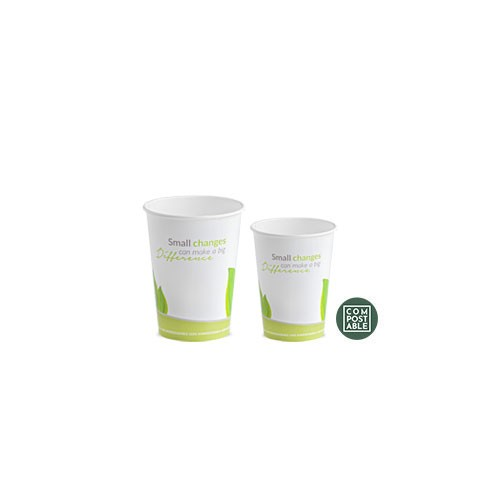 VERRE EN PAPIER COMPOSTABLE