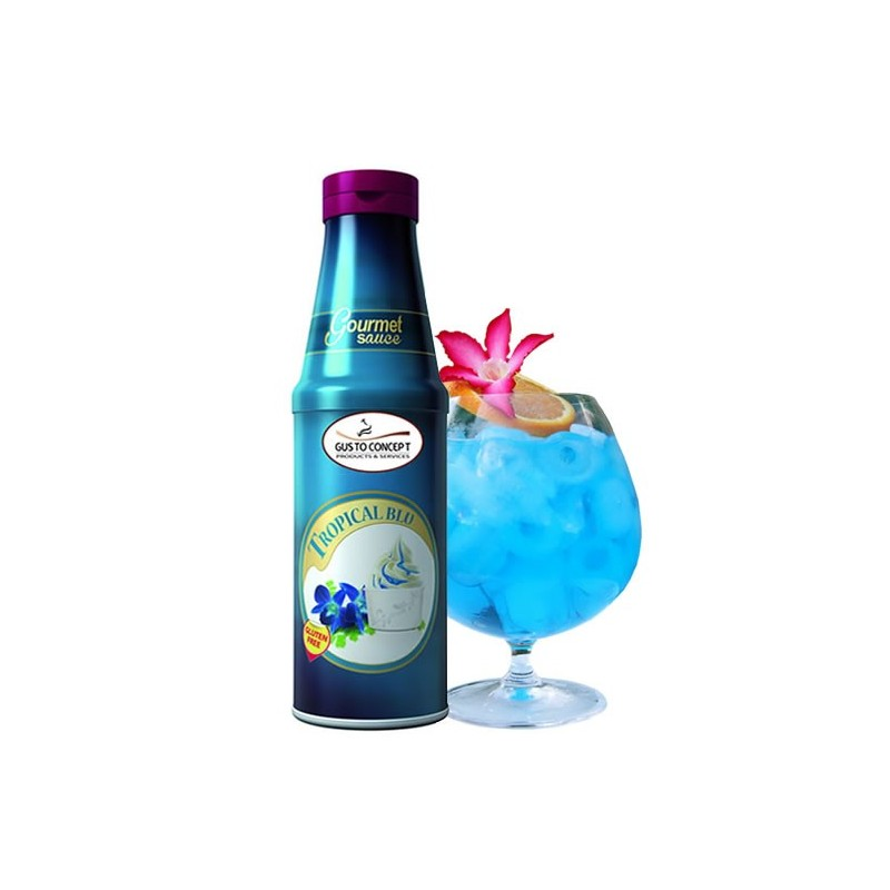 Nappage Tropical blue