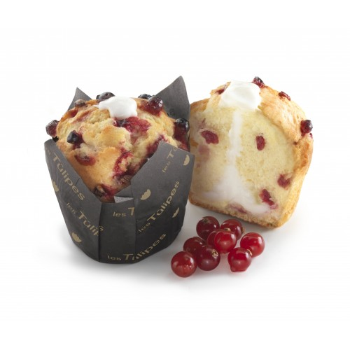 Muffin fourré Yaourt et Cranberry x20pcs