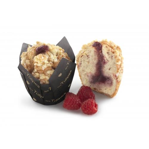 Muffin fourré framboise Cheesecake x20pcs